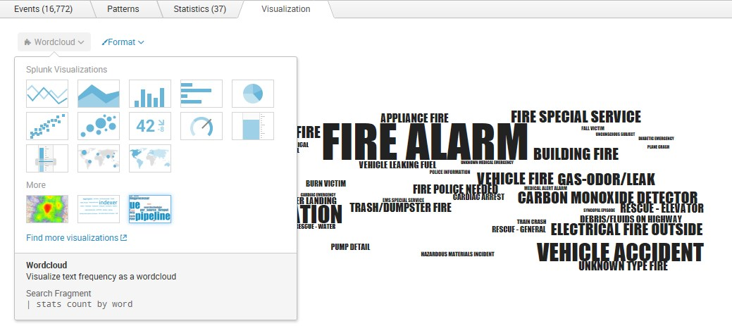Word Cloud Visualisations for Splunk - the app assembly